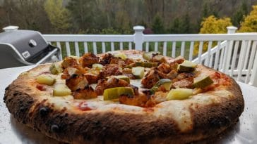 nashville hot chicken pizza oven recipe