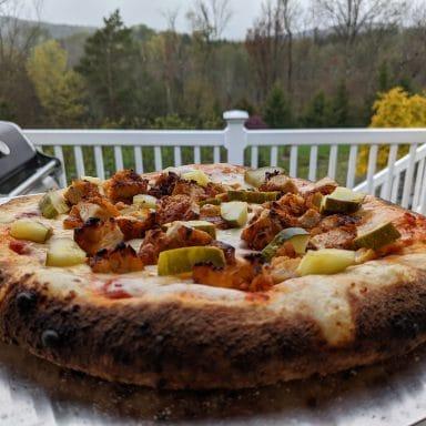nashville hot chicken pizza oven recipe